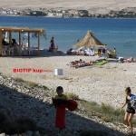 BIOTIP® kup, plažni objekt Novalja
