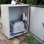 Kompresor za aeraciju u ormaru